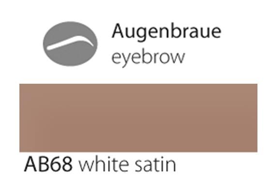 AB68 white satin