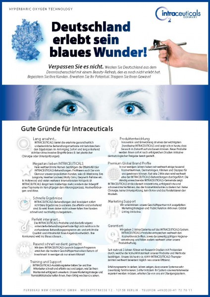 Endkunden Flyer Intraceuticals