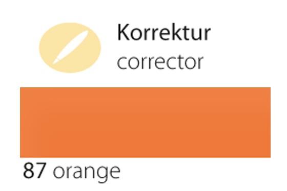 87 orange