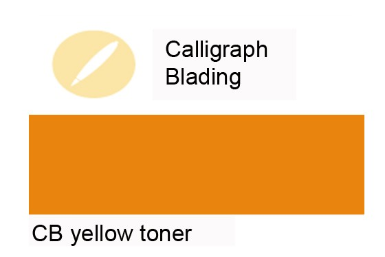 CalligraphColor yellow toner 10 ml